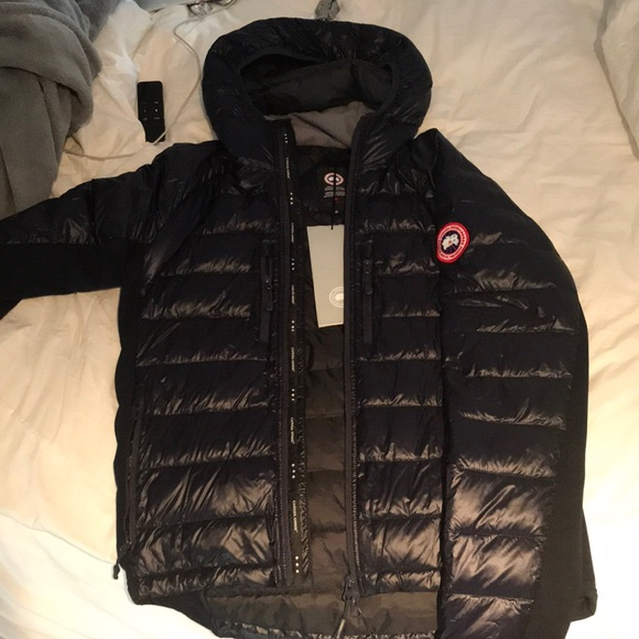 canada goose jacket material